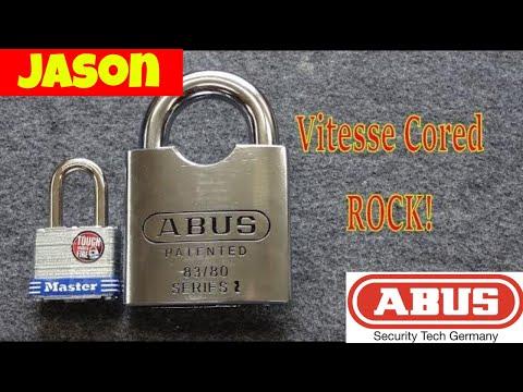 Взлом отмычками ABUS ROCK   (1115) Abus ROCK w/Vitesse Core