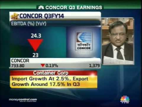 Capacity utilisation high; export-import gap cut: Concor