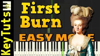 First Burn By Lin-Manuel Miranda Easy Mode Piano Tutorial Synthesia.mp3