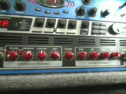 Fender M-80 Pro Rackmount Demo Part I of II