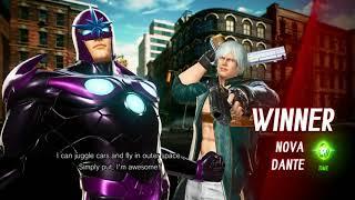MvCi - PreCiSioN(Hawkeye.Ultron) vs BumbaSnuff(Dante.Nova) Online Practise Sesh