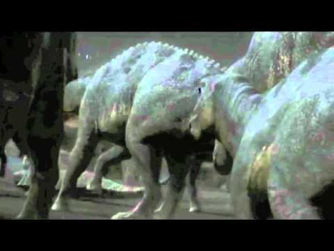Albertosaurus vs Edontosaurus-  Epic resound roars!