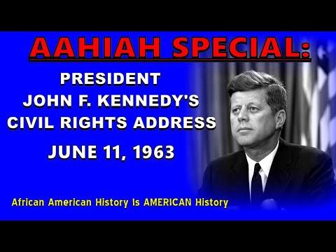 AAHIAH [SPECIAL]: President John F. Kennedy