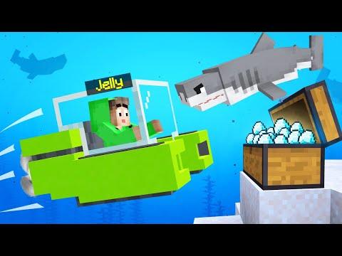 Minecraft TREASURE HUNT With SUBMARINES! (Dangerous)