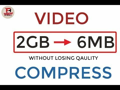 How To Reduce Video Size Without Losing Quality Only From 1 App!!Hindi