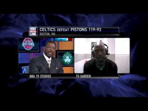 Kevin Garnett - NBATV Game Time Interview (Mar 15, 2010)