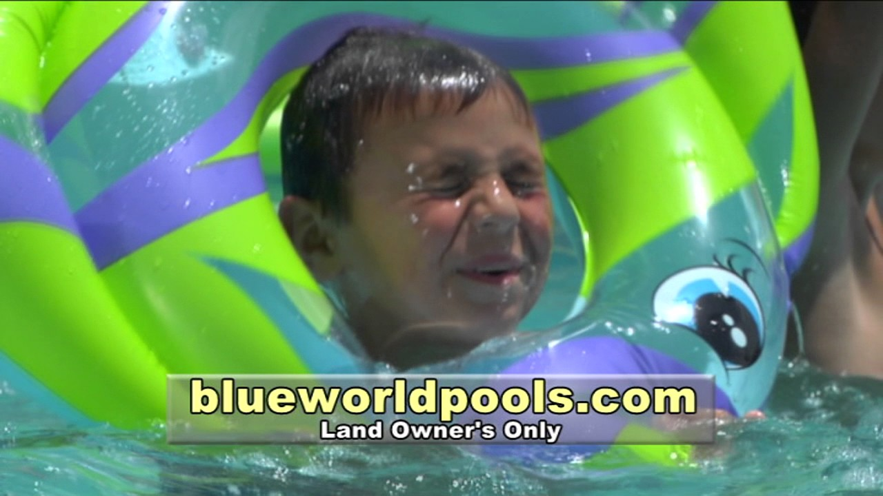Blue world pools inc 399 youtube for Blue world pools