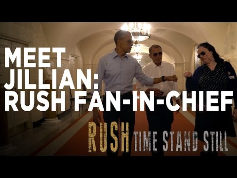 """Meet Jillian - Rush Fan-In-Chief"" | Time Stand Still"