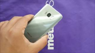 Samsung Galaxy S8 unboxing and First look For Metropcs