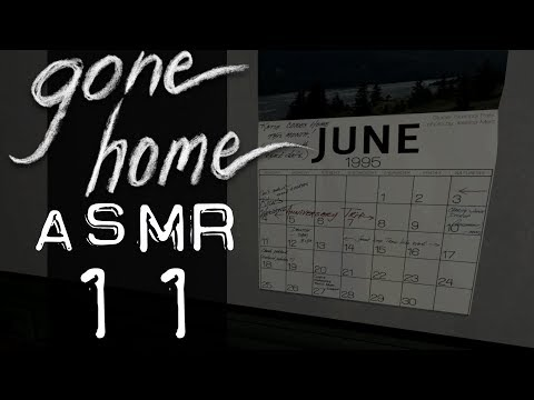 ASMR Let's Play: Gone Home #11: Solved our Parent's Whereabouts - (Whispered ASMR Gameplay 1440p)