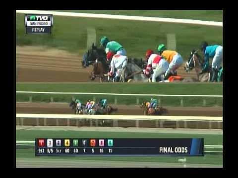 Kentuckian - 2015 San Pedro Stakes - Third Place Finish