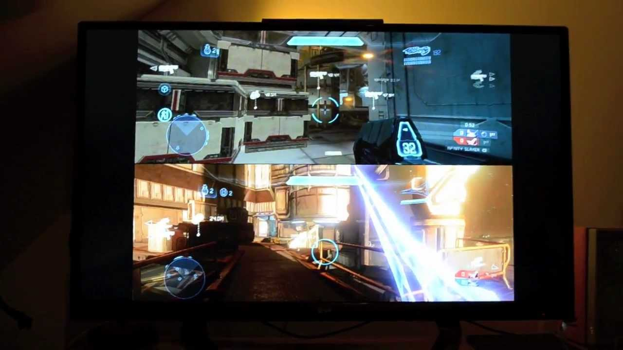 Two players. One TV. An alternative to splitscreen ...