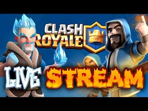 REPLAY: 2,000 GEM TOURNAMENT | SUBSCRIBE FOR PASSWORD | TWO ACCOUNTS AT ONCE! | CLASH ROYALE