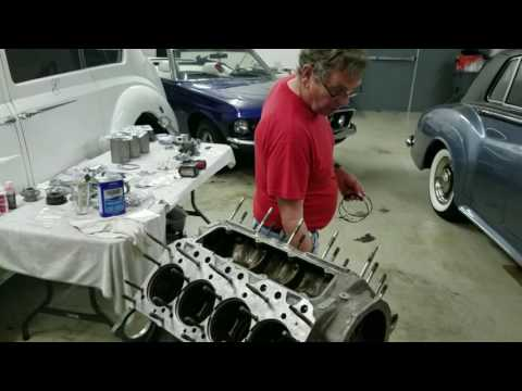 Engine Rebuild Silver Cloud 3 - Part 1 - Piston , Rings, Rods, and Liners Rolls Royce Silver Cloud 3