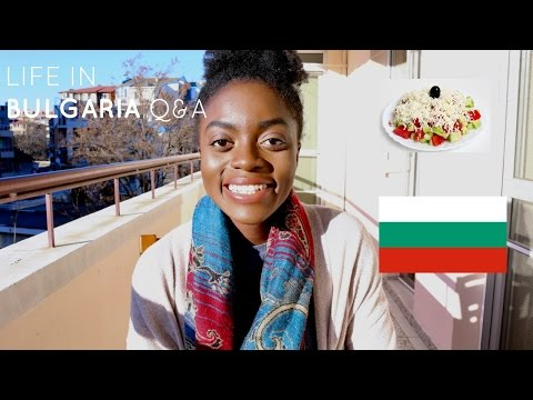 LIVING IN BULGARIA| ARE BULGARIANS RACIST?! , FOOD, UNIVERSITY Q&A