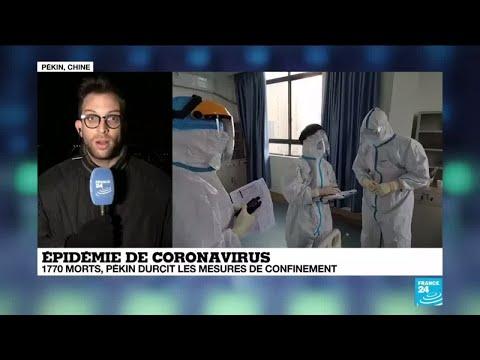 Coronavirus: La durée d'incubation du virus pourrait être plus longue que prévu