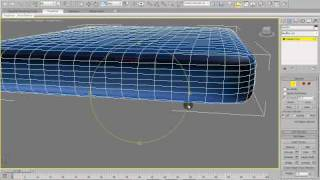 3DS Max Tutorial How to model a mattress for a bed