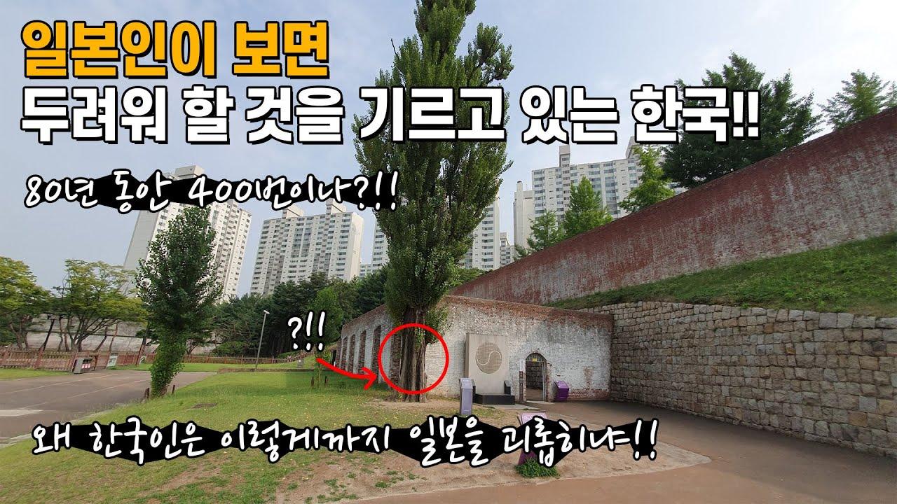 일본인이 보면 두려워 할 것을 기르고 있는 한국!!