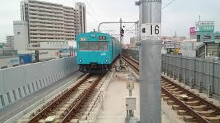 阪和線103系 普通 東岸和田駅発車