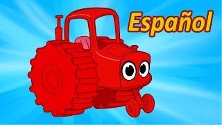 Mi Tractor Rojo - Morphle, mi Mascota Mágica (My Magic Pet Morphle Español)
