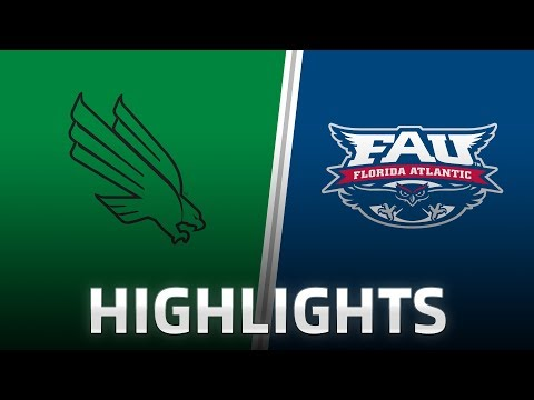 Highlights: North Texas at Florida Atlantic