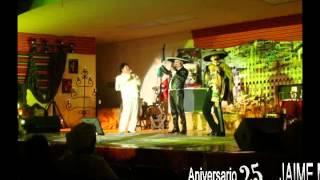 Imitador Junior D' Leon (25 Aniversario de Jaime Martel) ..wmv