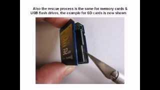 SD SDHC CF xD memory card & USB flash drive data recovery