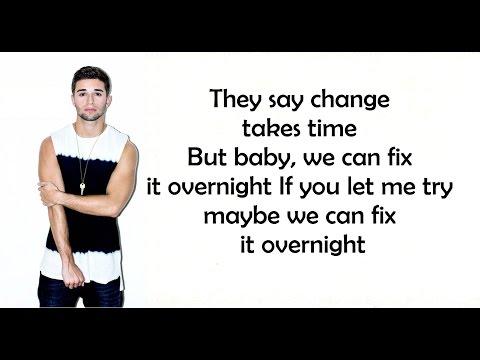 Overnight - Jake Miller (Lyrics)