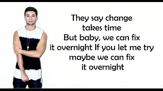 Gambar cover Overnight - Jake Miller (Lyrics)