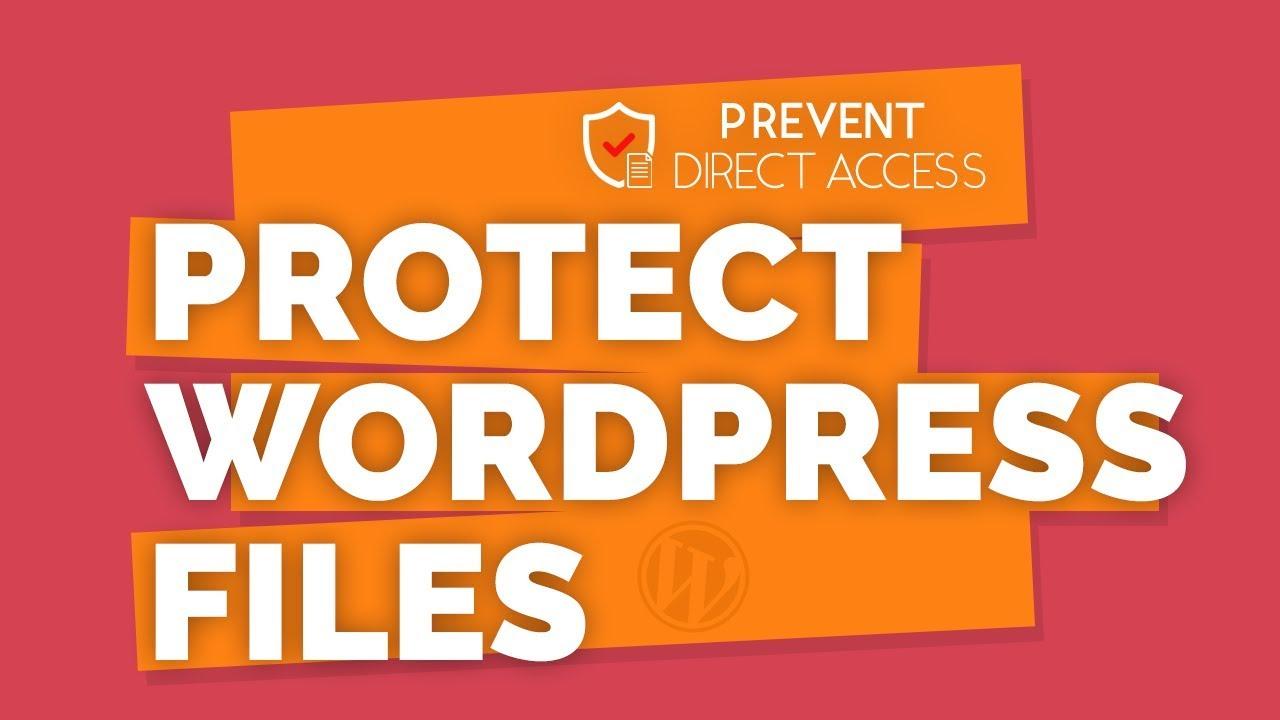 Prevent Direct Access – WordPress plugin   WordPress org
