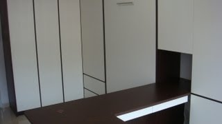 Hdb-teck Whye-home Office Workstation+guest Rm.blk116-hwb-v1080-s.single+wardrobe,table-hidden Bed