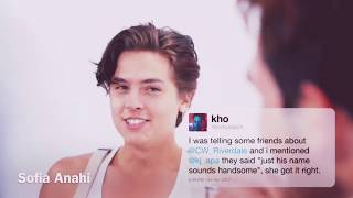 Cole Sprouse and KJ Apa cute and funny moments