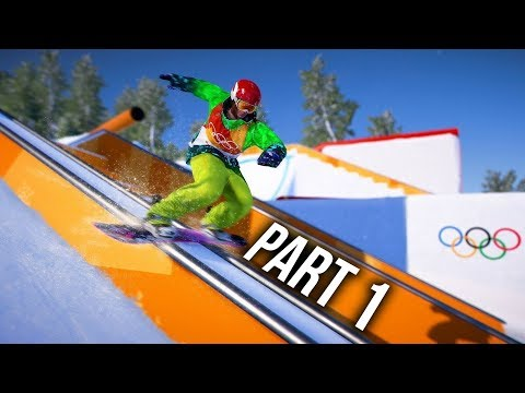 Steep Road to the Olympics Gameplay Walkthrough Part 1 - Pye