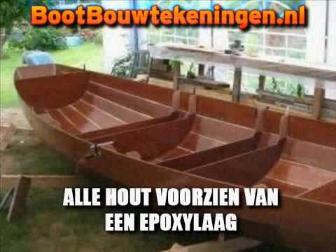 Grote Houten Boot.Een Houten Boot Bouwen Hoe Doe Je Dat Youtube