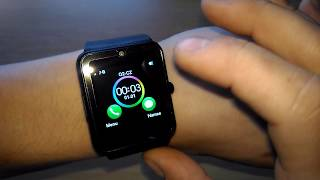 GT08 smartwatch | BT 3.0 | micro SIM | SD card | Unboxing & review