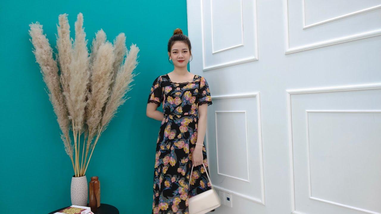 [ LIVE 152 ] – Đầm Trung Niên Đẹp GIẢM GIÁ SỐC – Thời Trang Trung Niên 2021
