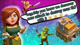 TOP TH7 ATTACK STRATEGIES 2017 ! Clash of Clans Best Town Hall 7 Attack Strategy (CoC)