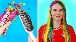 GENIUS LIFE HACKS THAT WORK MIRACLES!    School Hacks And Useful Tips by 123 Go! Gold