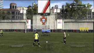 Fifa 12 Fancy Flick Free Kick Tutorial  Xbox 360 and PS3