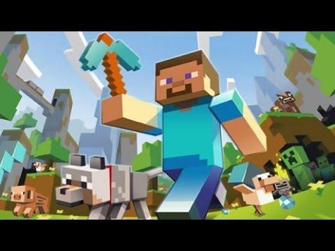 Minecraft sobrevivencia 6 cama azul youtube for Cama minecraft