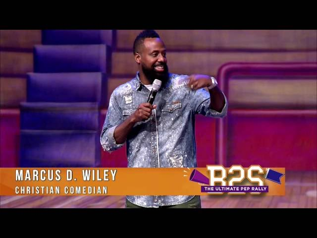 Christian Comedian - Marcus D. Wiley