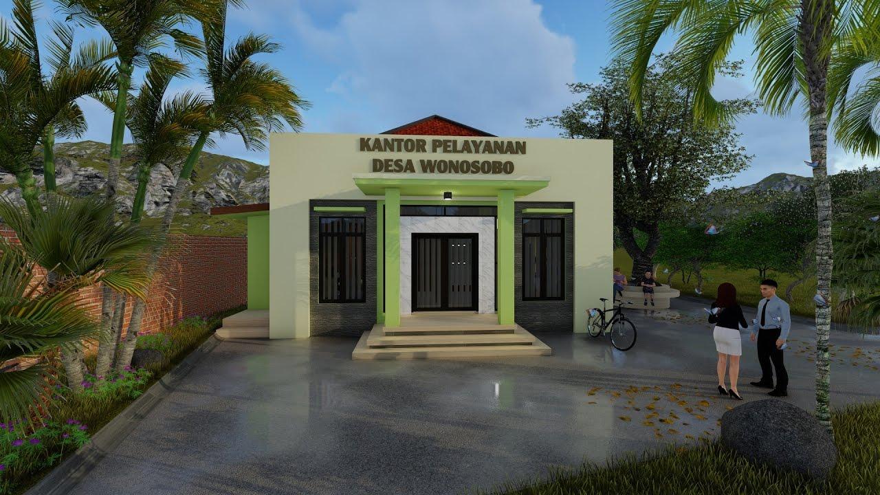 478+ Ide Desain Kantor Desa Modern Paling Keren