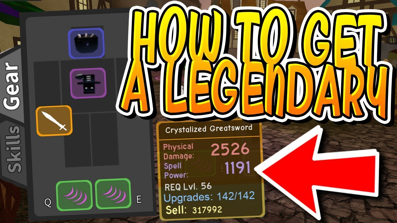 How To Get Legendary Drops In Dungeon Quest Roblox Youtube