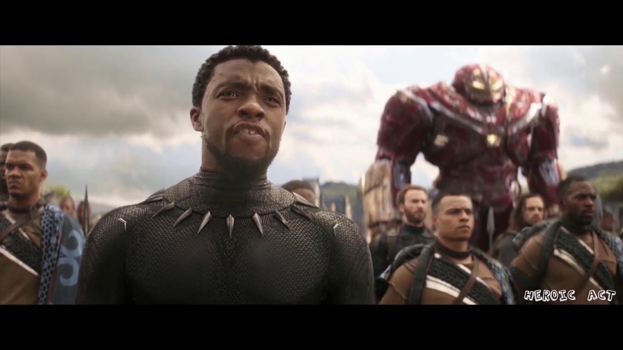 Thor Chegando Em Wakanda Dublado Hd Vingadores Guerra