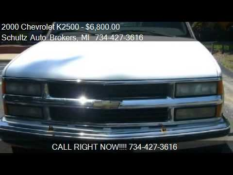 2000 Chevrolet K2500 Ext. Cab Short Bed 4WD - for sale in Li