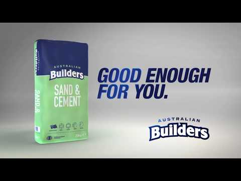 AUSTRALIAN BUILDERS SAND AND CEMENT MIX