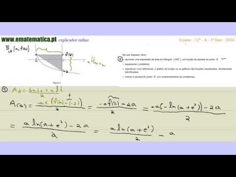 Vídeo Exames matemática 12o ano resolvidos