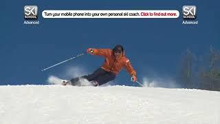 Урок 24   Динамические повороты на лыжах  Горные лыжи видео