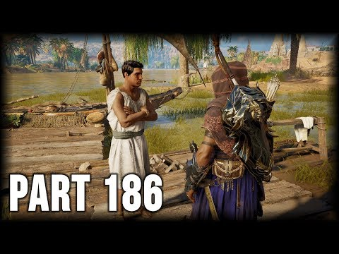 Assassin's Creed Origins - 100% Walkthrough Part 186 [PS4] – Side Quest: Losers Weepers thumbnail