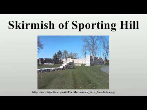 Skirmish of Sporting Hill